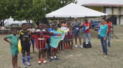 #NicksKitCollection Helps Barbados Youth