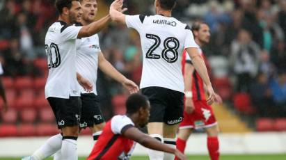 Kidderminster Harriers 0-4 Derby County