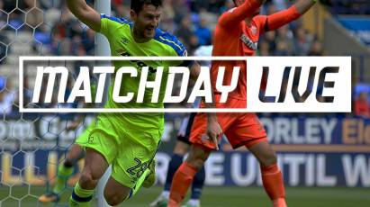 Matchday Live - Bolton Wanderers (A)