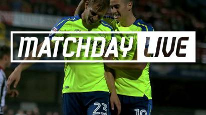 Matchday Live - Grimsby Town (A)