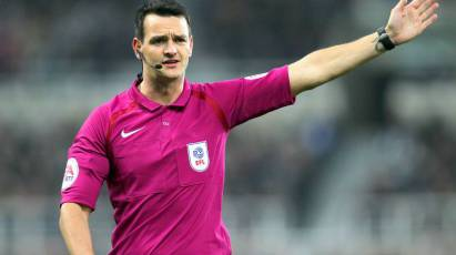 Madley To Take Charge Of Sunday's Local Derby