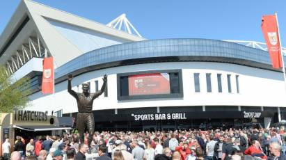 Pay On The Day NOT Available At Ashton Gate