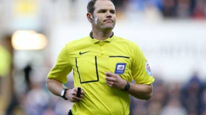 Linington Appointed To Take Charge Of Rams' Clash At Cardiff City