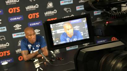 Andre Wisdom Press Conference - Nottingham Forest (H)