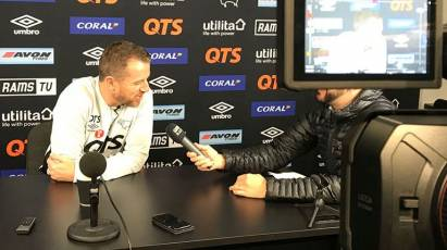 Gary Rowett Press Conference - Sheffield Wednesday (H)
