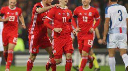 Lawrence Nets In Wales Draw