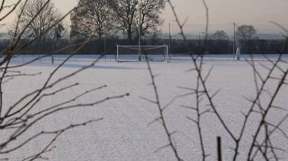 Rams Get Set For Villa In The Snow