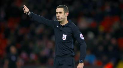 Coote To Take Charge Of Sheffield Wednesday Clash