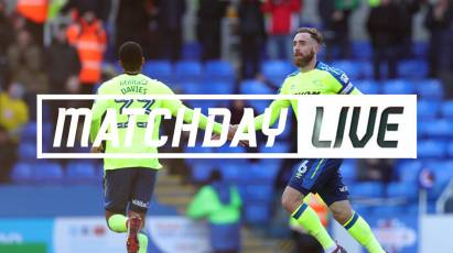 Reading Matchday Live Production Available to Subscribers