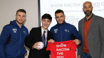 Rams Duo Help Pupils Show Racism The Red Card