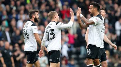 Vydra Reaches 20 As Derby Ease Past Bolton