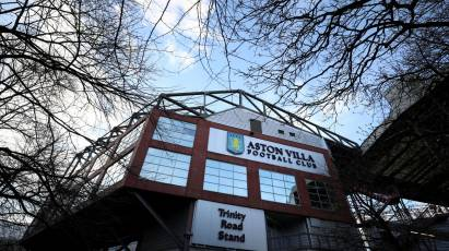 Aston Villa Tickets Sold Out