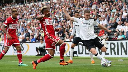 Derby County 1-2 Middlesbrough