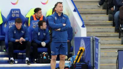 Wassall Commends Under-23s' 'Moral Courage' After Harsh Leicester Loss