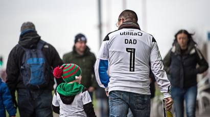 Treat The Man In Your Life To A Father's Day Meal At Pride Park Stadium