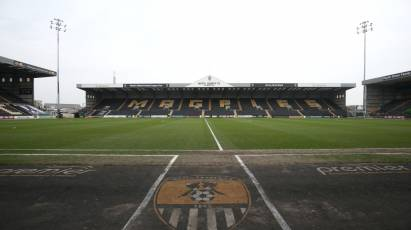 Key Information For Fans Ahead Of Notts Clash