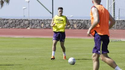 Lawrence Reflects After Session Five In Tenerife