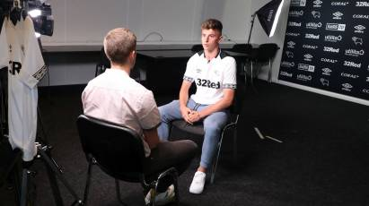 Mount's First Interview As A Derby Player