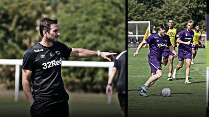 See Lampard's Rams put through their paces at Open Training Session