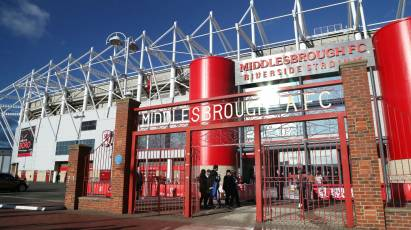 Middlesbrough Trip Picked For Live Sky Sports Coverage