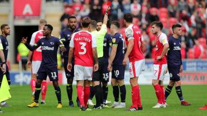 Lawrence To Serve Three Match Ban