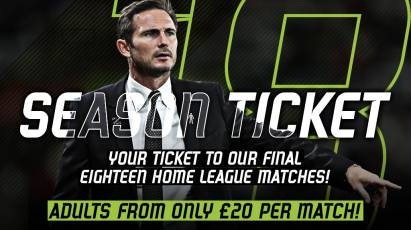 ST18 Initiative Launched: Watch Derby From As Little As £20 Per Game!