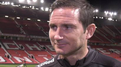 Lampard Hails Players Following Cup Win Against Manchester United