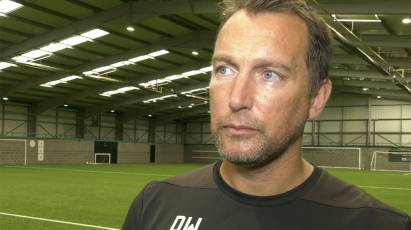 Wassall Previews Test Against PSG At Pride Park