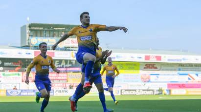 Timi Elsnik Stars For Mansfield Town Last Night