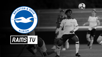 Watch Derby County Under-23s Vs Brighton For FREE on RamsTV