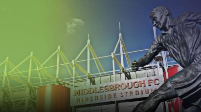 Pay On The Day Confirmed For Middlesbrough Clash