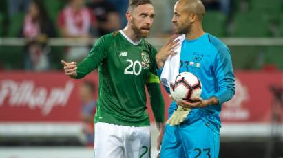 Keogh Called Up For Republic Of Ireland Duty