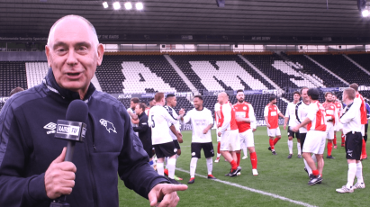 Former Rams Stars Back On Pride Park Pitch