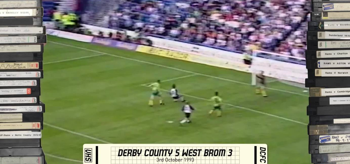 Rams Classics: Derby 5-3 West Brom - 3rd October 1993