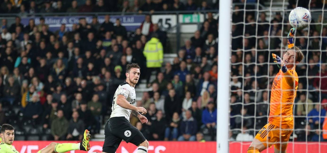 Marriott Fires Rams To Victory At Pride Park