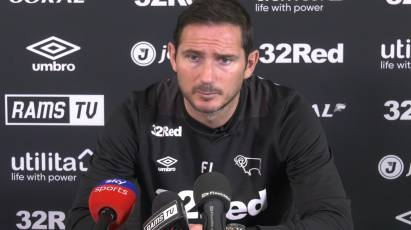 Lampard Addresses Media Ahead Of West Brom Clash