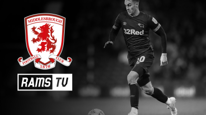 Follow Derby's Trip To Middlesbrough On RamsTV