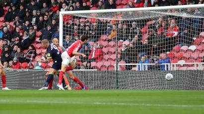 Rams Forced To Settle For 1-1 Draw Against Boro