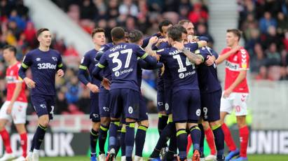 Middlesbrough 1-1 Derby County