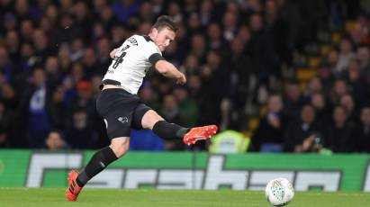 Re-Watch Derby County's Carabao Cup Clash Against Chelsea