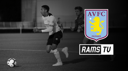 Watch Derby County Under-23s Vs Aston Villa For FREE On RamsTV