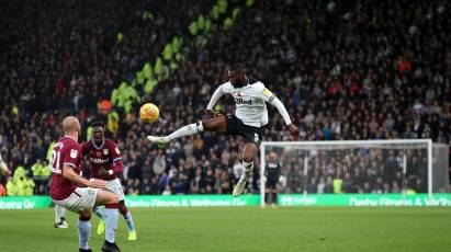 Derby County 0-3 Aston Villa