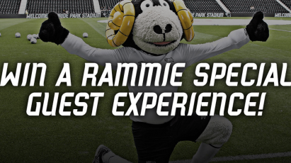 Spend £50 Campaign: Chance To Be A Rammie Special Guest For Forest Game