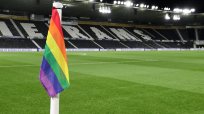 Derby Join Clubs In Uniting To Support LGBT Equality