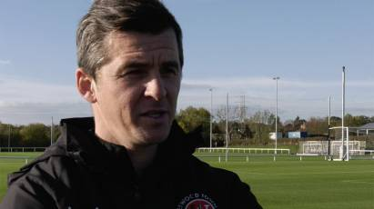 Joey Barton's Fleetwood Town Train At Moor Farm