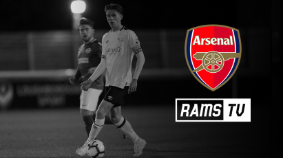 Watch Derby County Under-23s Take on Arsenal For Free On RamsTV