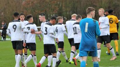 Under-18s Top The Table Following Victory At Middlesbrough