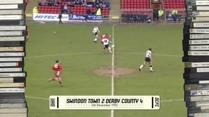 Rams Classics: Swindon Town 2-4 Derby County - 6th December 1992