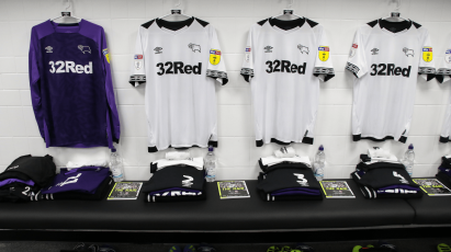 Derby County To Host Shirt Auction Following Nottingham Forest Fixture