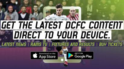 Stay Up To Date With The Derby County App